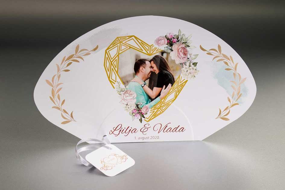 Lepeze za venčanja - Ljilja i Vlada