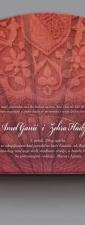 "Dvobojne svadbene lepeze ""Amal i Zehra"" (lepeze za venčanja)"