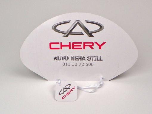 """Papirne lepeze """"Auto Nena"""" (Chery)"""