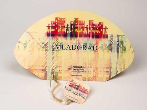 """Reklamne lepeze """"Mladgrad"""" (građanske inicijative)"""