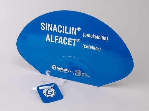"Lepeza ""Galenika"" (Sinacilin + Alfacet)"