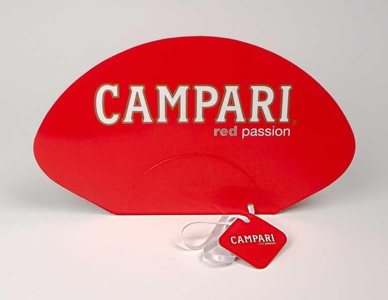 """Reklamne lepeze """"Campari"""""""