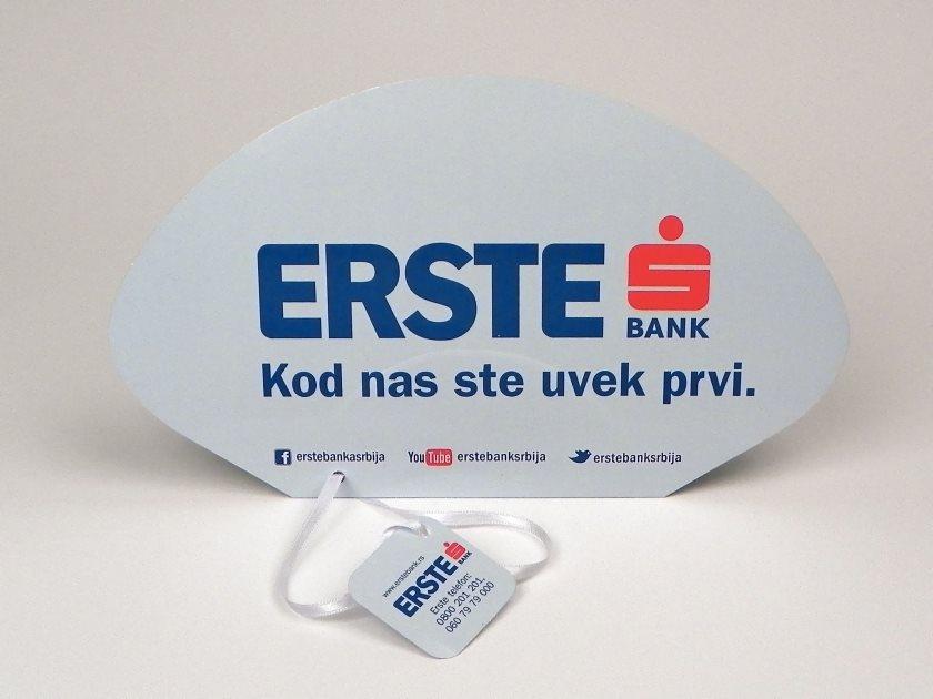 """Papirne lepeze """"Erste Banka"""" (Rolerijada)"""