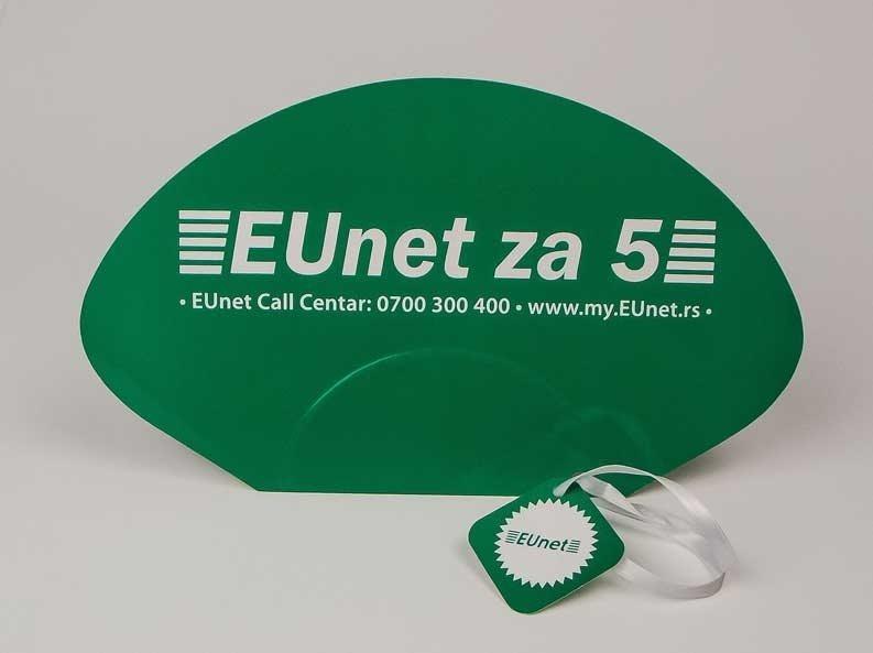 "Reklamne lepeze ""Eunet"""