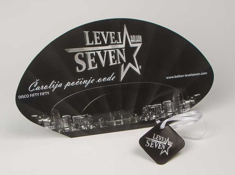 "Reklamne lepeze ""Level Seven"""