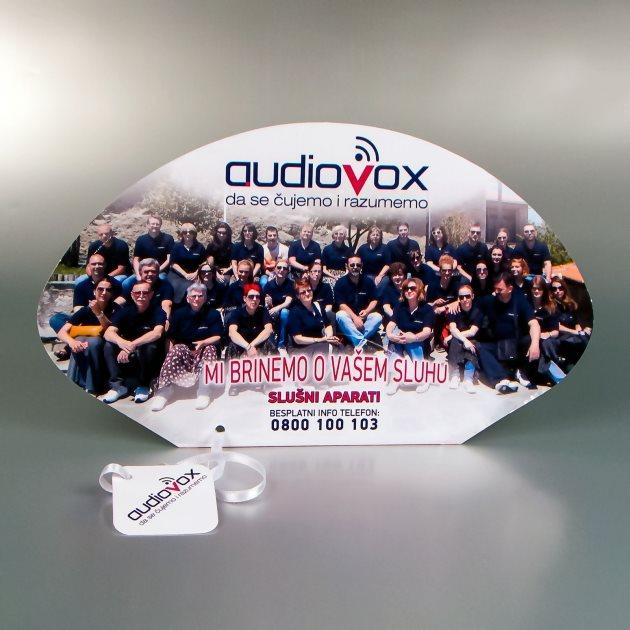 "Reklamne lepeze ""Audiovox"""