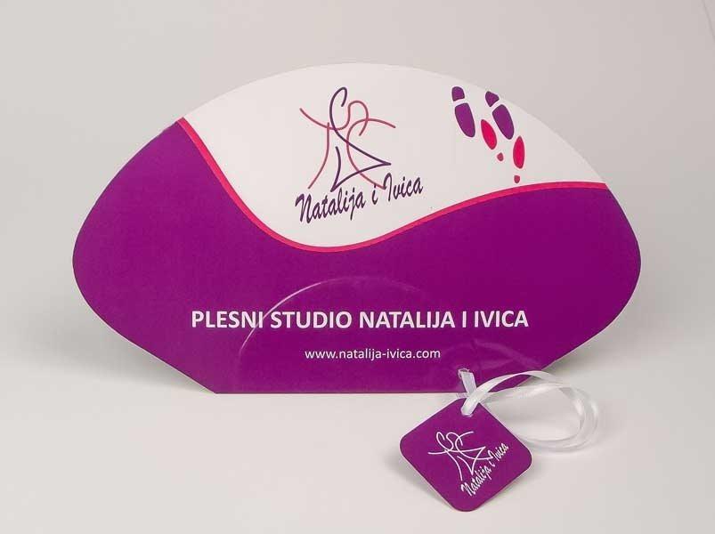 "Reklamne lepeze ""Natalija i ivica"""