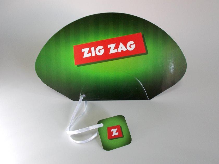 """Promo lepeze """"Zig Zag"""""""