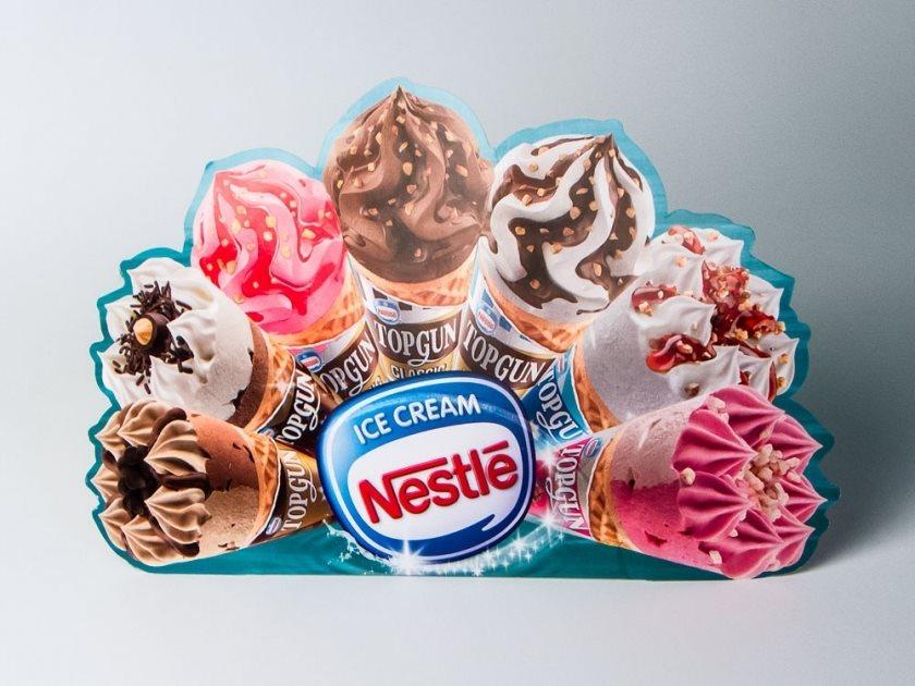 "Reklamne lepeze ""Nestle"""