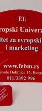 "Reklamne lepeze ""EU University"""