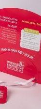 """Reklamne lepeze """"Wiener Stadtische"""""""