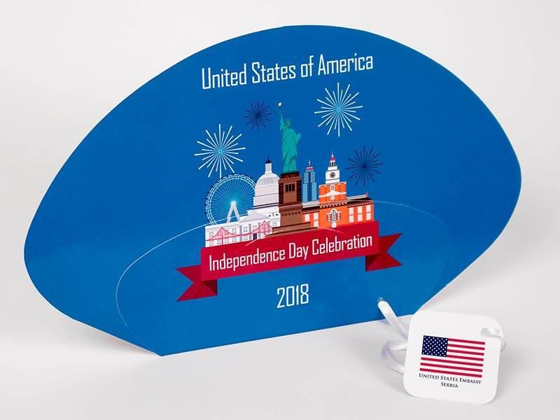 Lepeze USA 2018 (prednja strana)