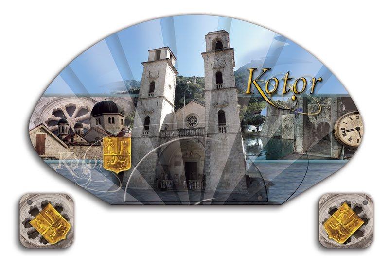 lepeza razglednica Kotor (Crna Gora)