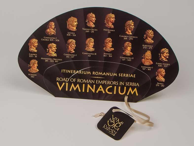 """Lepeza """"Viminacium"""" (rimski imperatori)"""
