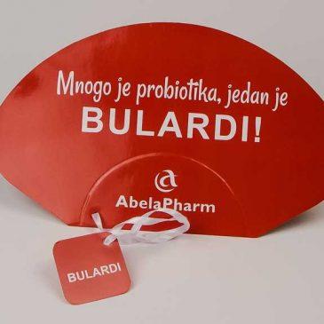 Promo papirne lepeze Bulardi