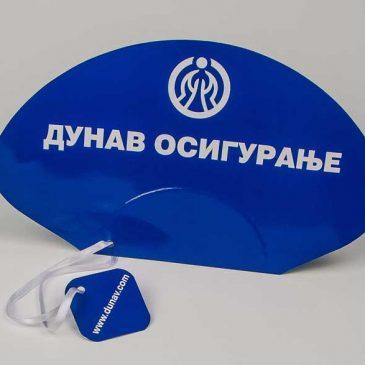 Reklamne lepeze Dunav Osiguranje