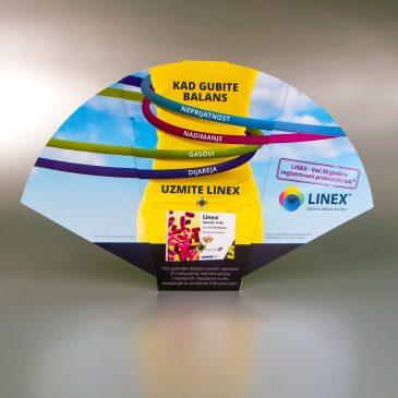 Linex lepeza na sklapanje